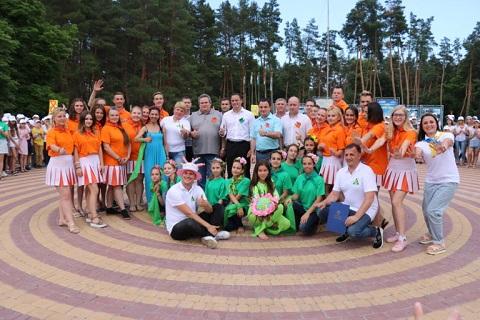 «Лесная сказка» меткомбината г. Каменское провела «Юбилейные встречи» Днепродзержинск