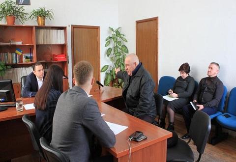 Мэр г. Каменское провел прием горожан по личным вопросам Днепродзержинск