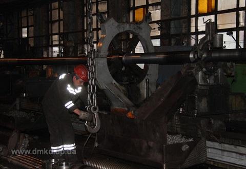 Новое оборудование установили на стане 400/200 «ДМК» г. Каменское Днепродзержинск