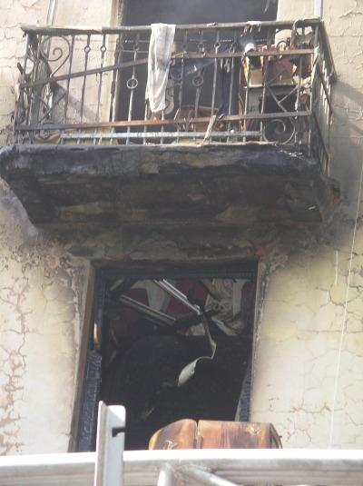 фото dndz.tv окно кухни где произошел взрыв Днепродзержинск