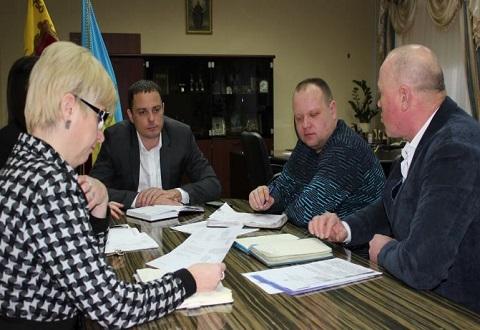 Градоначальник г. Каменское провел встречу с Игорем Бережным Днепродзержинск
