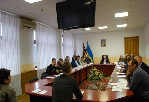 Исполком г. Каменское провел заседание  Днепродзержинск