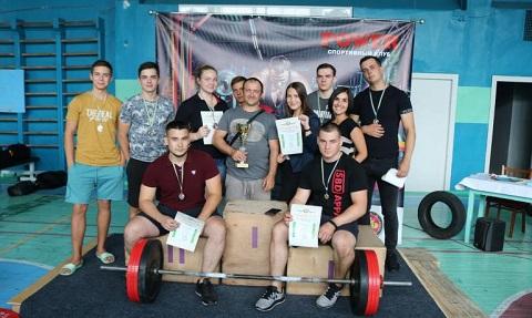 В Каменском прошли лично-командные соревнования по пауэрлифтингу Днепродзержинск