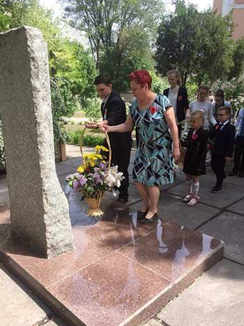 Школы Каменского отпраздновали 73-ю годовщину Дня Победы Днепродзержинск