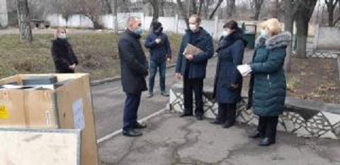 Городской отдел лабораторных исследований г. Каменское получил новое оборудование Днепродзержинск