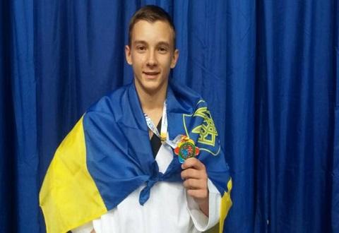 Каменчанин стал победителем чемпионата Европы по тхеквондо Днепродзержинск