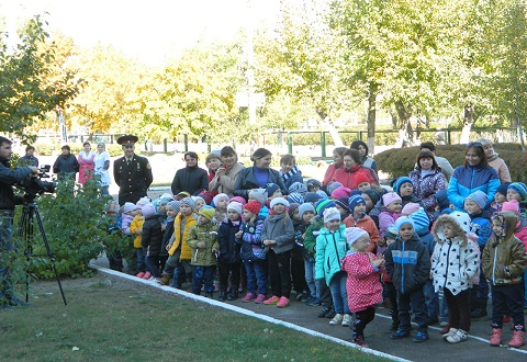 Работники Службы спасения г. Каменское  провели практическое занятие в ЦРР № 35 Днепродзержинск