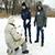 Любителей зимней рыбалки в Каменском спасатели предупреждали об опасности выхода на тонкий лед