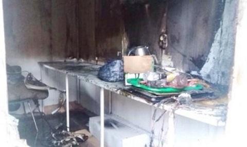 Спасатели ГПСЧ №7 г. Каменское ликвидировали пожар по ул. Мурахтова Днепродзержинск