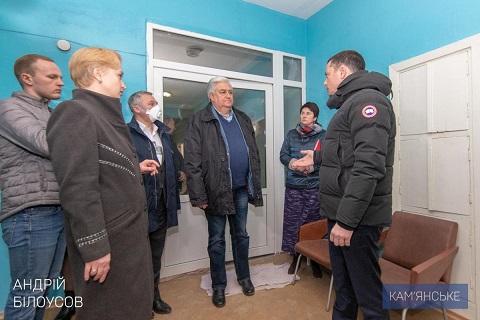 Мэр г. Каменское провел заседание по вопросам выполнения протокола комиссии ТЭБ и ЧС Днепродзержинск