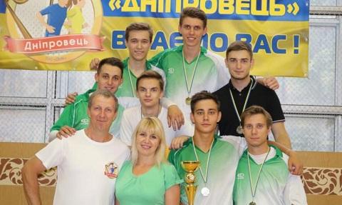 Студенты г. Каменское состязались на футбольном турнире Днепродзержинск