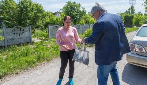 В Каменском продолжают поддерживать горожан Днепродзержинск