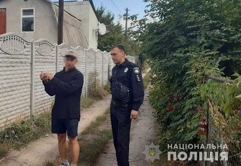В Каменском задержали дачного вора Днепродзержинск