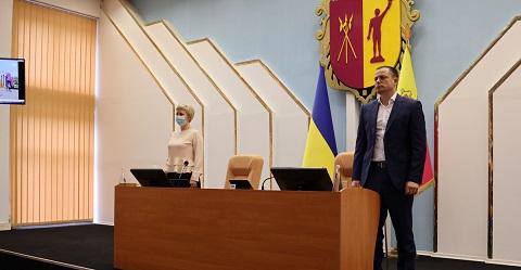 Секретарем нового состава горсовета г. Каменское избрали Наталью Ктитарову Днепродзержинск