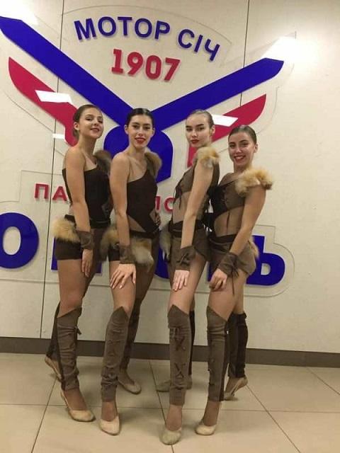 Каменские чердлидеры с успехом выступили на Кубке Украины Днепродзержинск