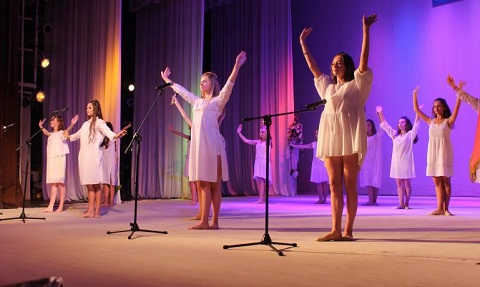 Технический лицей № 1 г. Каменское отметил день рождения Днепродзержинск