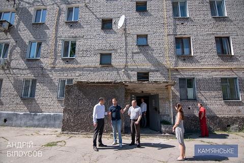В г. Каменское завершили ремонт лифтов в доме Южного района Днепродзержинск