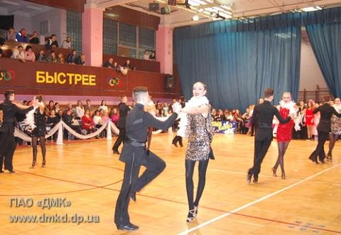 В Каменском прошел 20-й Всеукраинский турнир по  спортивным бальным танцам Днепродзержинск