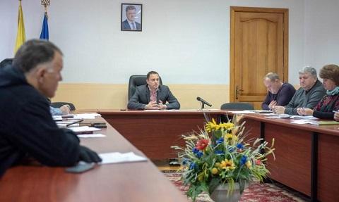 Городской голова г. Каменское провел рабочее совещание Днепродзержинск