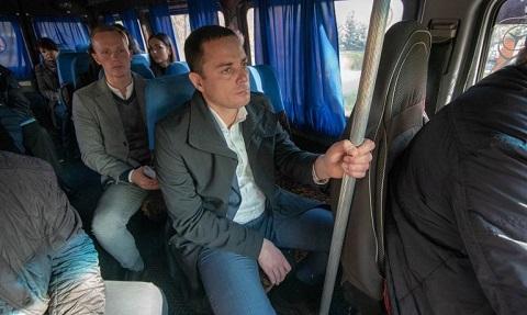 Градоначальник г. Каменское провел объезд города Днепродзержинск