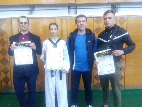 Каменские спортсмены стали призерами областных соревнований по тхэквондо Днепродзержинск