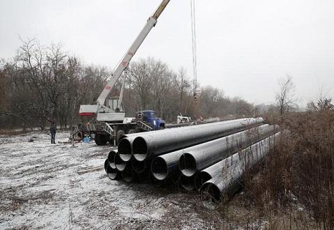 В Каменском продолжают реконструкцию водовода Днепродзержинск
