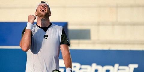 Каменской теннисист завоевал второй титул чемпиона Днепродзержинск