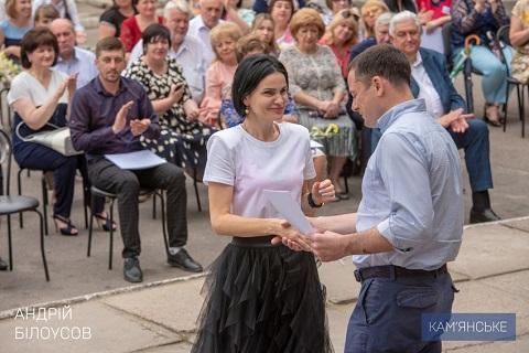 В Каменском поздравили медицинских работников  Днепродзержинск
