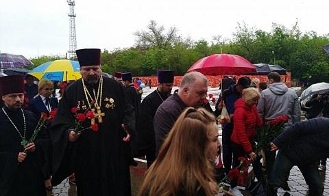 Каменчане отпраздновали День Победы Днепродзержинск