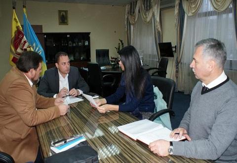 В Каменском градоначальник А. Белоусов провел рабочее совещание Днепродзержинск