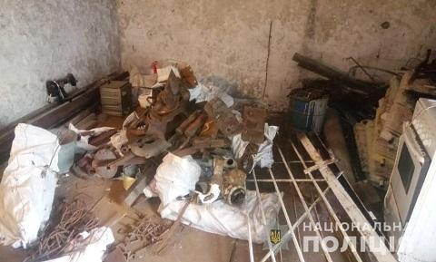 Каменские полицейские ликвидировали частный пункт приема металлолома Днепродзержинск