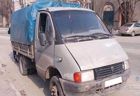 Инспекторы полиции Каменского остановили «ГАЗ 33021» с тонной металлолома Днепродзержинск