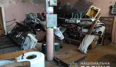 Каменские полицейские изъяли у нарушителя около шести тонн металлолома Днепродзержинск