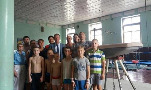 Спортивные объекты г. Каменское сегодня снова начинают работать Днепродзержинск