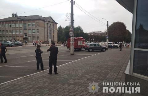 Полиция г. Каменское установила личность лжеминера Днепродзержинск