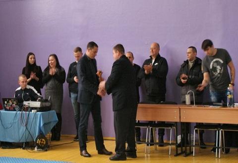Участникам АТО посвятили достижения спортсмены Каменского Днепродзержинск