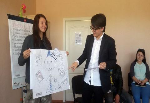 Молодежь Каменского учили проявлять лидерские качества Днепродзержинск