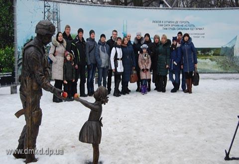 Молодежь «ДМК» Каменского посетила в Днепре музей АТО Днепродзержинск