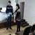 В музыкальной школе г. Каменское педагогов учили пользоваться огнетушителем