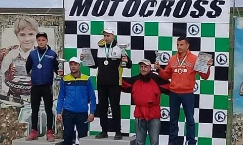 Каменчанин Дмитрий Чернов стал победителем мотокросса Днепродзержинск