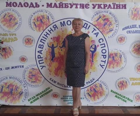 В Каменском наградили тренера и директора ДЮСШ №3 Днепродзержинск