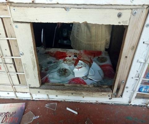 На левобережье Каменского злоумышленники напали на продавца в киоске Днепродзержинск