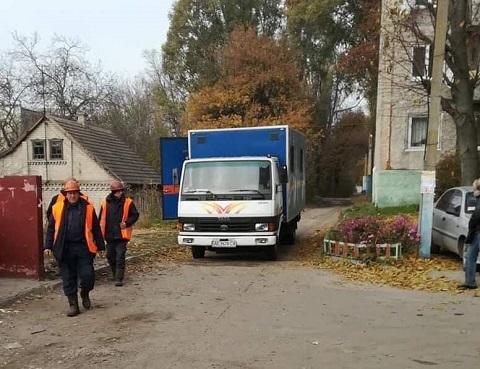 Специалисты КП «Каменской водоканал» провел отключение незаконной врезки Днепродзержинск