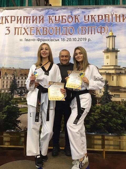 Кубок Украины по тхэквондо принес спортсменкам Каменского четыре медали Днепродзержинск