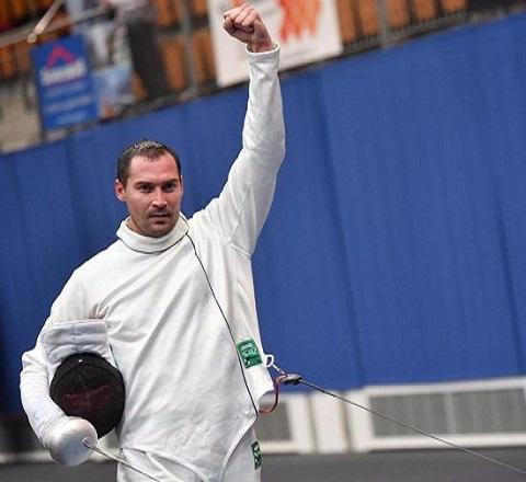 На этапе Кубка мира фехтовальщик из Каменского стал серебряным призером Днепродзержинск