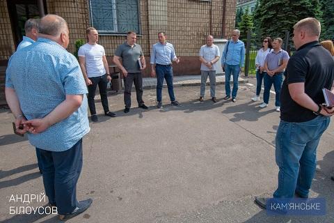 В Каменском мэр города провёл объезд территории Днепродзержинск