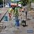 В г. Каменское мэр проверил ход строительных работ на объектах инфраструктуры