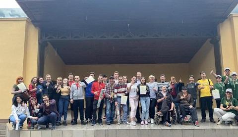В Каменском провели молодежный квест Днепродзержинск