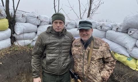 Градоначальник г. Каменское побывал в зоне ООС Днепродзержинск