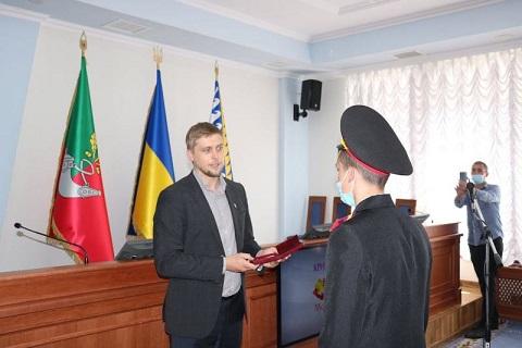 Орден «За мужество» вручили юноше, который спас пятерых детей под г. Каменское  Днепродзержинск
